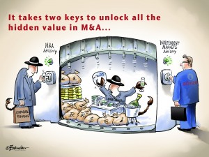 It takes two keys to unlock all the hidden value in M&A
