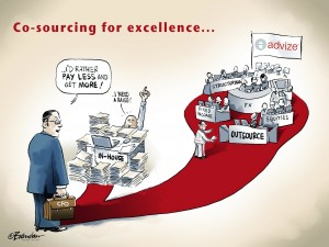Co-sourcing for excellence