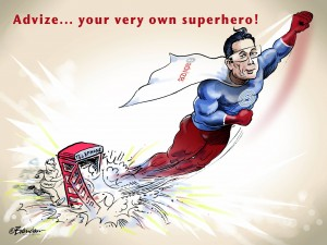 Advize... your very own superhero!